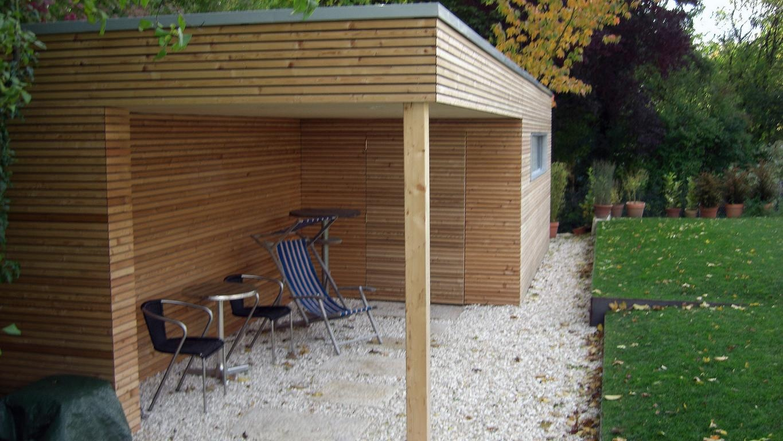 Modernes Gartenhaus referenz modernes gartenhaus karok gartengestaltung und