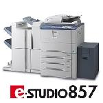 Produkteinführung e-STUDIO857