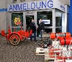 Übergabe historischer Geräte und Maschinen an das westfälische Feuerwerksmuseum