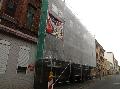 Bild der Referenz Fassadengerüst mit Staubschutznetzen in Hannover