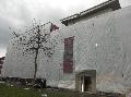 Bild der Referenz Fassadengerüst mit Planen in Münster