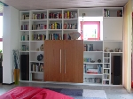 Bild der Referenz Bücherregal weiß