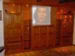 Bild der Referenz Wohnzimmerschrank nach Fertigstellung beim Kunden