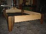 Bild der Referenz Bett aus Massiv Ahornholz