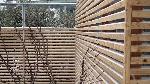 Bild der Referenz Sichtschutz aus Holz