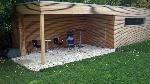 Bild der Referenz Modernes Gartenhaus