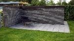 Bild der Referenz Freistehende Sichtschutzmauer